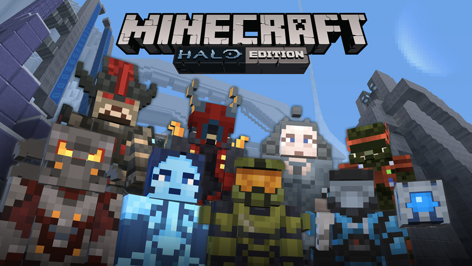 Hoy está disponible el pack Halo Mash-up para Minecraft