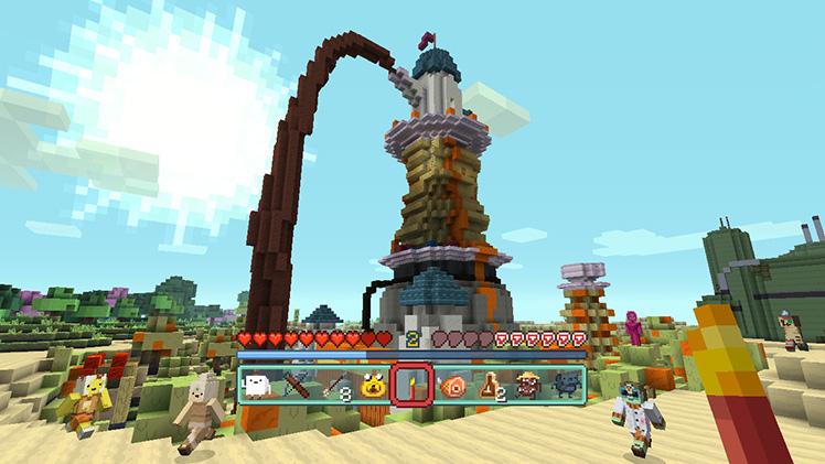 Los protagonistas de Hora de Aventuras llegan a Minecraft en consolas