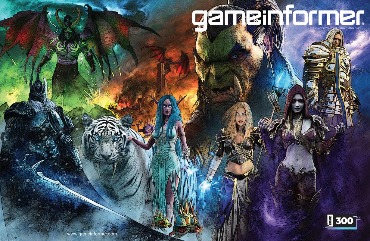 Game Informer celebra su número 300 con cuatro portadas especiales