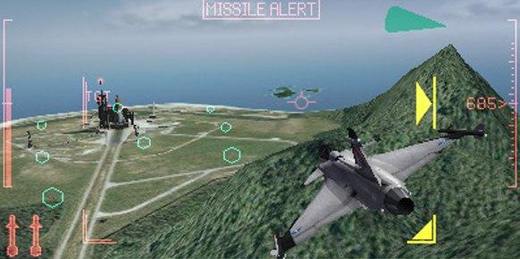 Ace Combat Assault Horizon Legacy 3DS