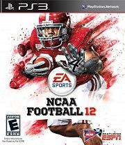 Carátula de NCAA Football 12 - PS3