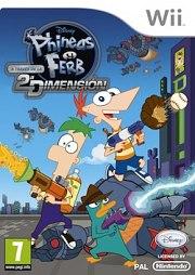Carátula de Phineas y Ferb - Wii