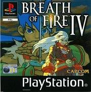Carátula de Breath of Fire 4 - PS1