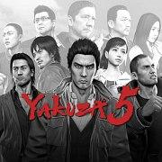 Carátula de Yakuza 5 - PS3
