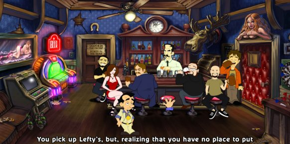 Leisure Suit Larry In the Land of the Lounge Lizards