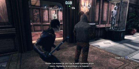 Batman Arkham City - Nightwing PS3