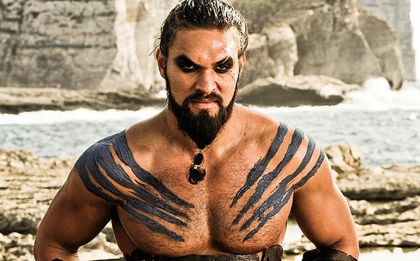 Jason Momoa - Khal Drogo en Juego de Tronos