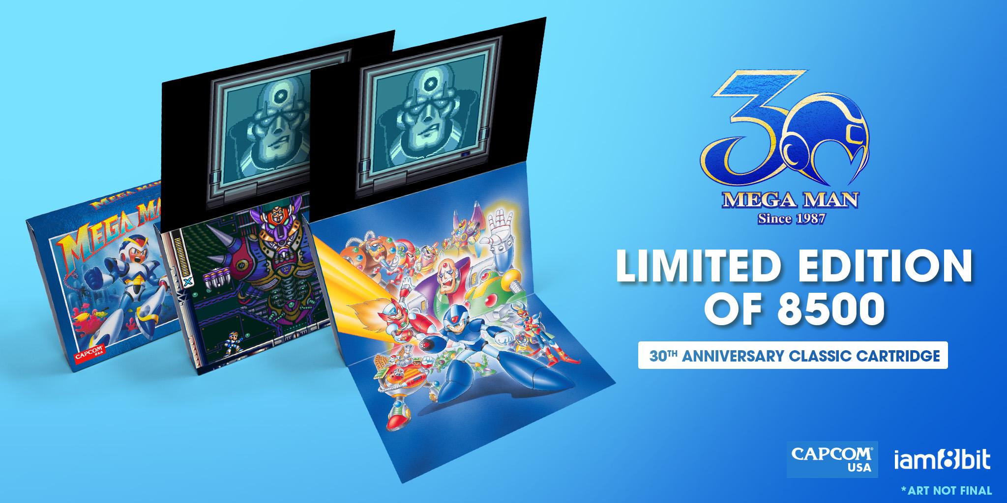Capcom relanzará en cartucho los clásicos Mega Man II y Mega Man X