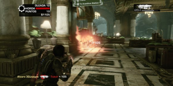 Gears of War 3 Fenix Rising Xbox 360