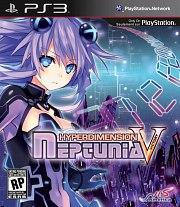 Carátula de Hyperdimension Neptunia V - PS3