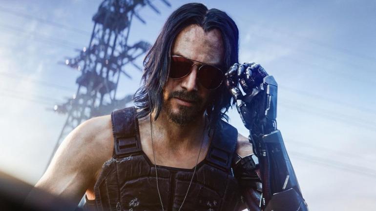 Keanu Reeves en Cyberpunk 2077