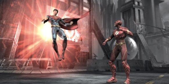 Injustice Gods Among Us Wii U