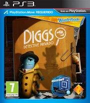 Carátula de Wonderbook: Diggs Detective Privado - PS3