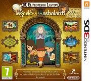 Carátula de Profesor Layton y el Legado Ashalanti - 3DS