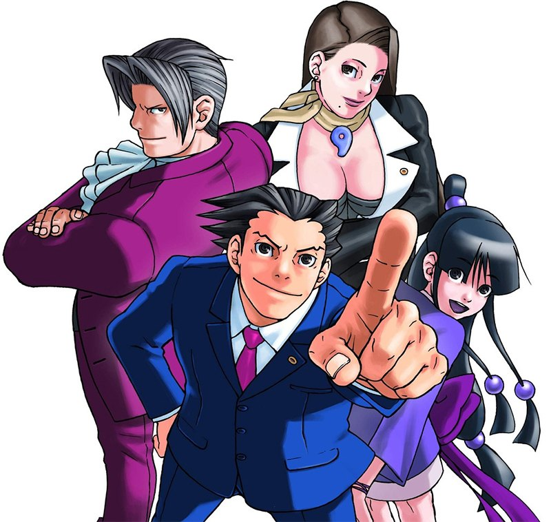 Phoenix Wright Ace Attorney Trilogy 3DS