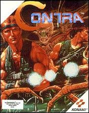Carátula de Contra - C-64
