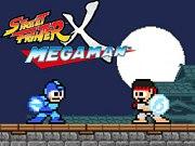 Carátula de Street Fighter X MegaMan - PC
