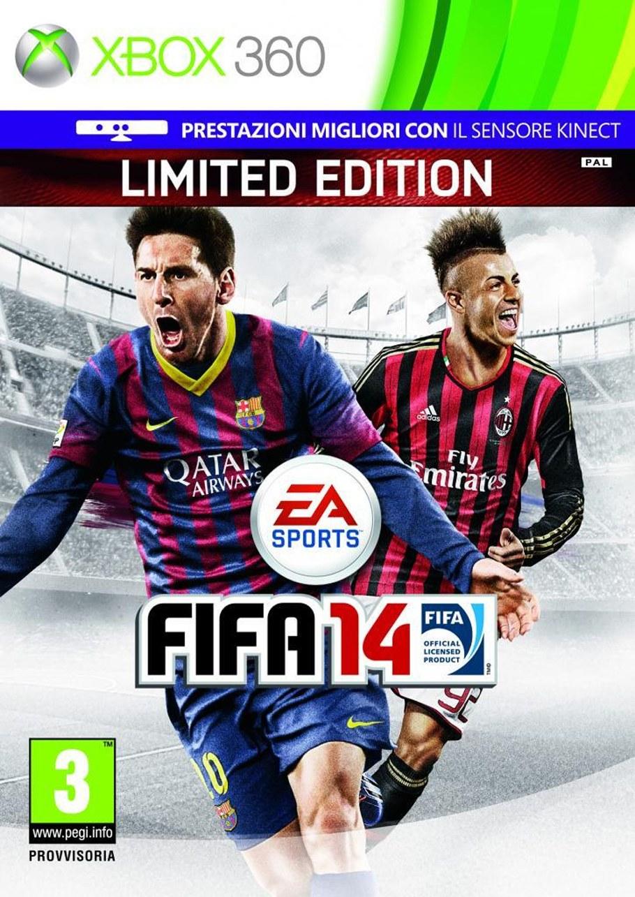 FIFA 14 tendrá en su portada italiana a El Shaarawy