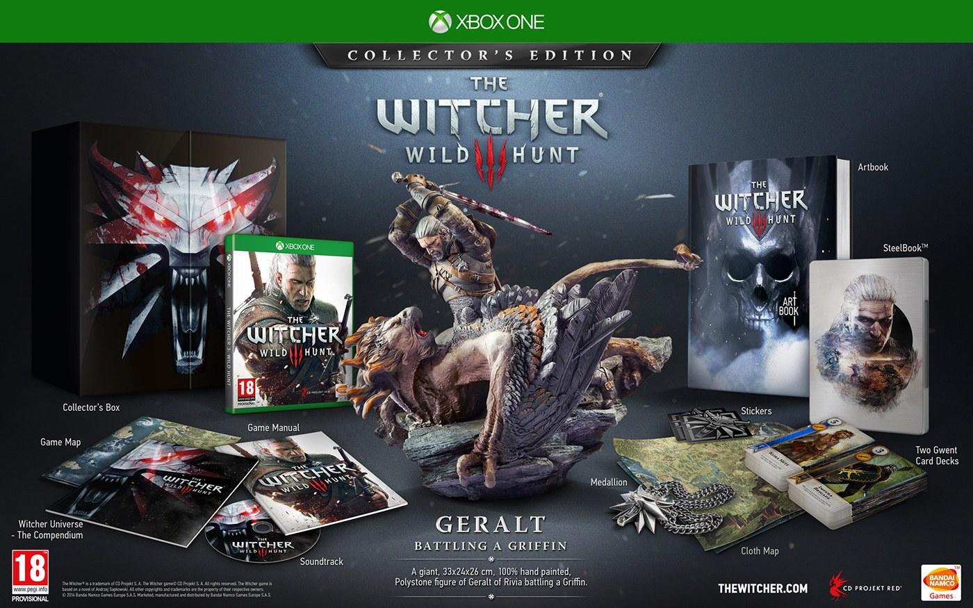 La edición coleccionista de The Witcher 3 se amplía en Xbox One