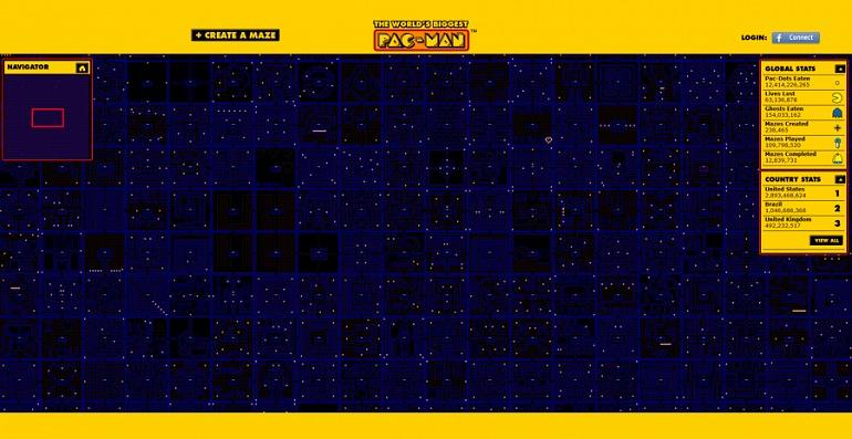 Juega al Pac-Man más grande del mundo