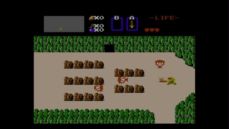 El primer Zelda fue uno de los impulsores del gameplay no-lineal de mundo abierto en consolas durante los 80.