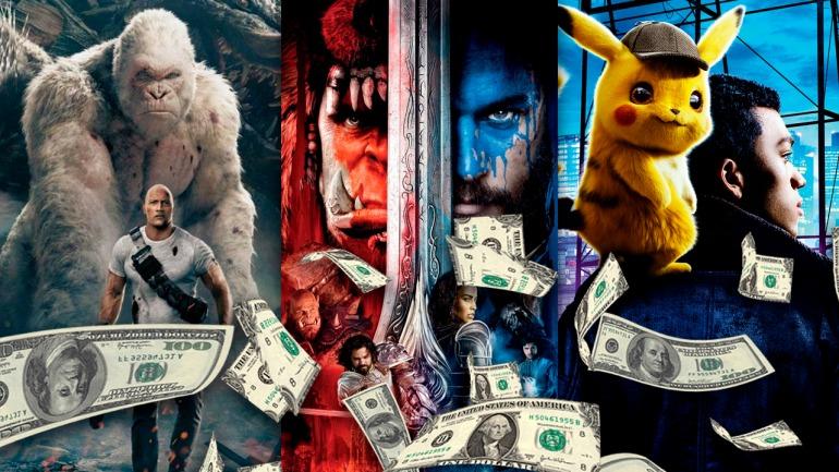 Las películas sobre videojuegos más taquilleras de la historia, ¿logrará Sonic colarse en el top-5?