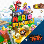 Carátula de Super Mario 3D World + Bowser's Fury - Nintendo Switch