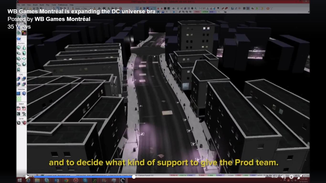 Un vídeo interno de Warner Montreal muestra un supuesto nuevo Batman Arkham