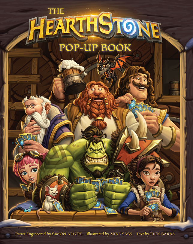 Hearthstone tendrá su propio libro pop-up