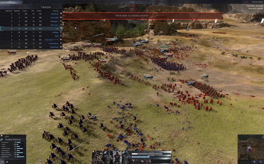 Total War Arena: Total War Arena: Estrategia F2P entre héroes multijugador