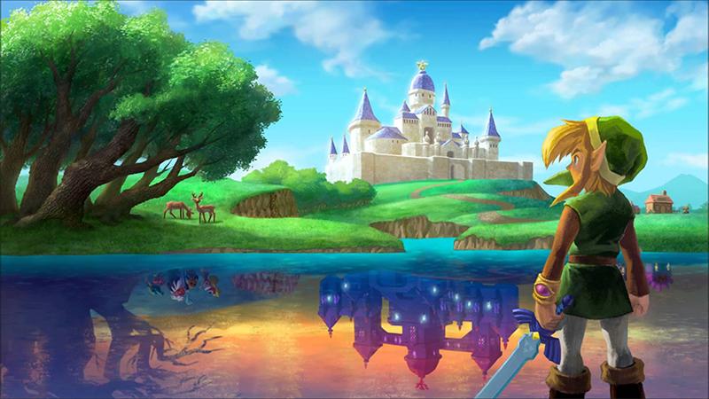 Zelda: A Link Between Worlds