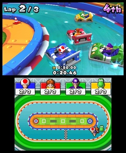 Mario Party Island Tour: Mario Party Island Tour: Impresiones jugables
