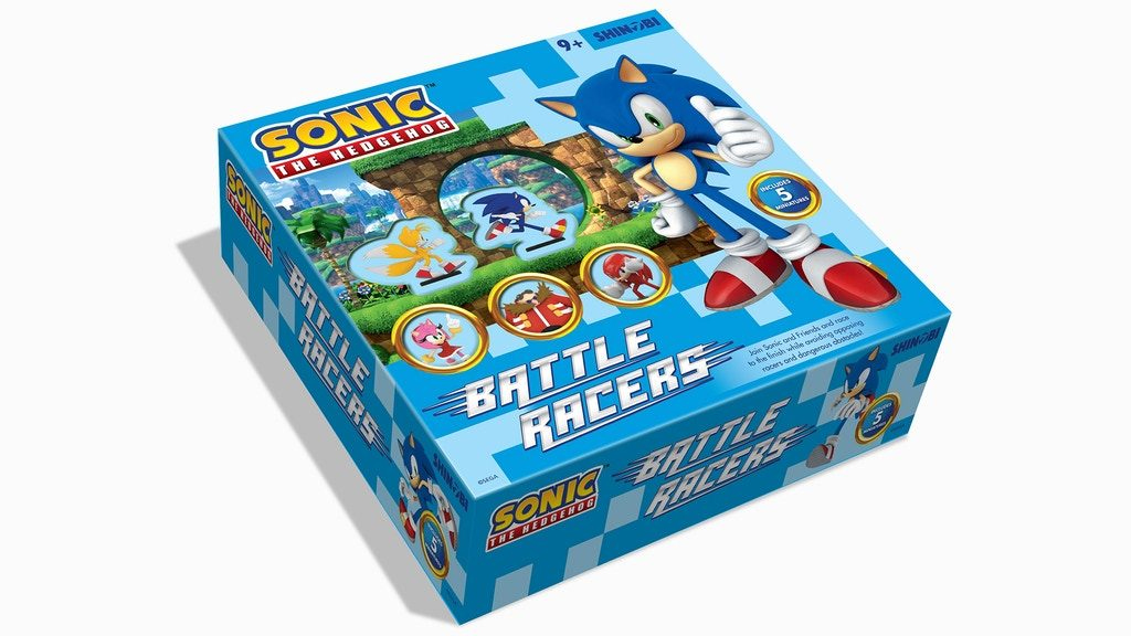 Presentado el juego de mesa Sonic the Hedgehog: Battle Racers